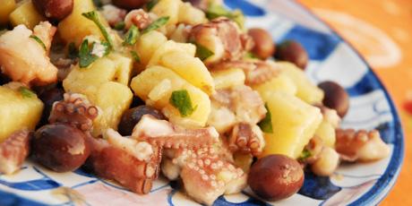 piovra con patate