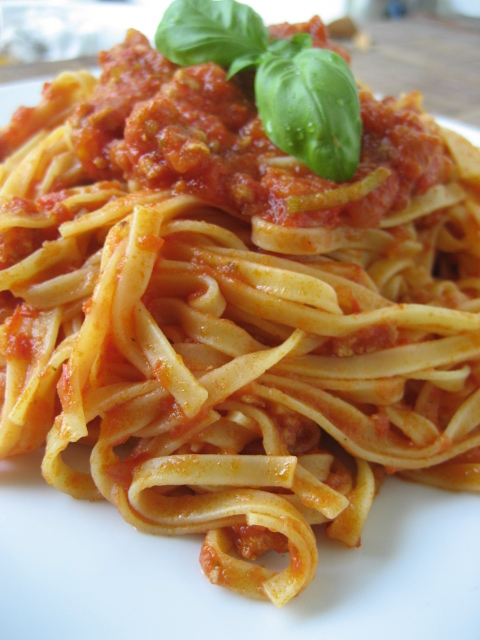 pasta ragù 1
