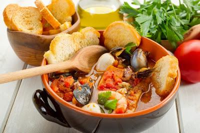 fish soup-zuppa di pesce
