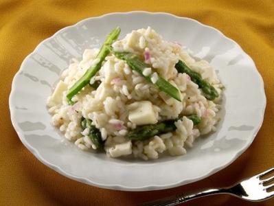 risotto asparagi e bresaola