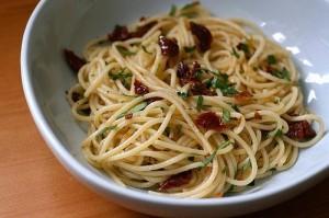 aglio olio e peper