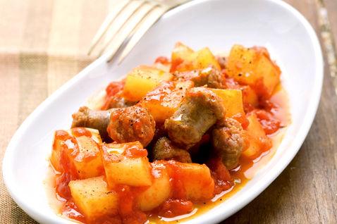 Salsicce patate