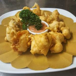 bocconcini di pollo tempura