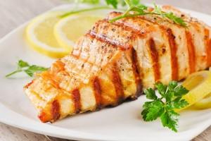 salmone griglia