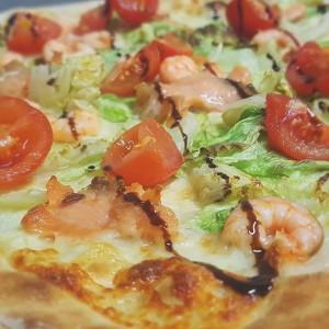 pizza della settimana salmone